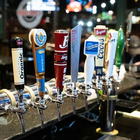 Beers on tap at Chicago Pub & Billiards
