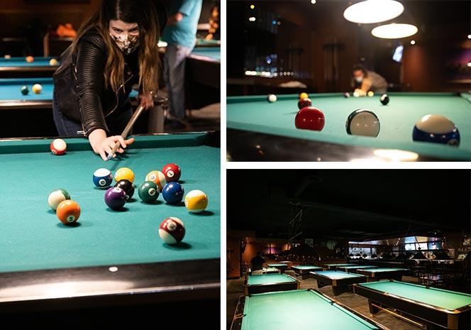 Billiards at Chicago Pub